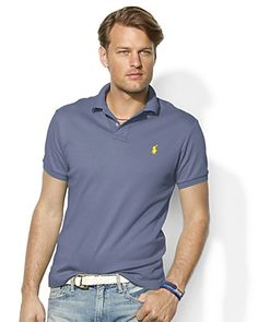 Polo Ralph Lauren Classic Fit Interlock Polo | Bloomingdale's