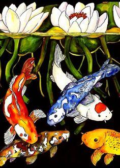 Kate Larsson's watercolors | Viola.bz