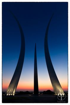 United States Air Force Memorial #photography #dc #sunrise