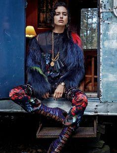 Irina Shayk for November Cover of Vogue Spain