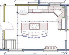 Kitchen Floor Plans Part 81