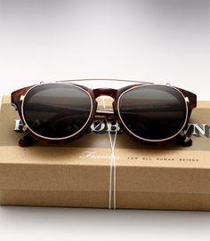 0e421cc29876c4 Han Timeless - Amber Tortoise + Clip Vintage Accessoires, Accessoires  Chaussures, Accessoire Homme,