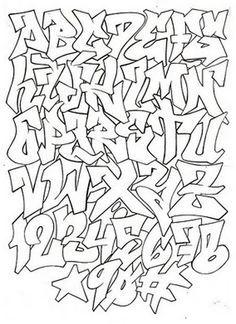 graffitis letras wildstyle - Buscar con Google