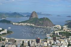 Rio de Janeiro, Brazil. Beautiful view, but not so beautiful to get there. Am I the only one who doesn't think Rio is the paradise? December 2012