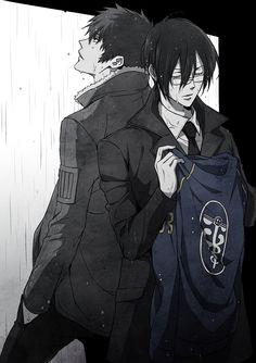 Kogami Shinya | Ginoza Nobuchika | Psycho Pass | ♤ Anime ♤