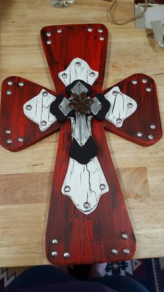 18 inch 3D wooden cross