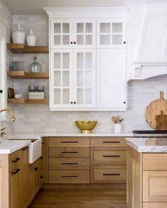 Classic Kitchen, New Kitchen, Kitchen Ideas, Kitchen Trends, Kitchen Layout, Island Kitchen, Kitchen Interior, Kitchen Worktop, Kitchen White