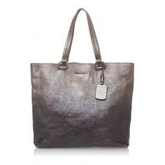 Prada Leather Vitello Daino Tote Bag