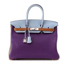 1316f7b4e7b5f6 Hermes Birkin Bag 35 Arlequin Harlequin Limited Edition Clemence Palladium  #hermes Purses And Handbags,