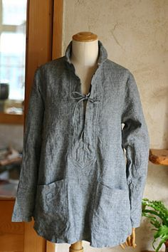 Linen lace up - Love this... but, I can see myself in this when I'm 50+ ...not yet, I'm too young to make this look good!