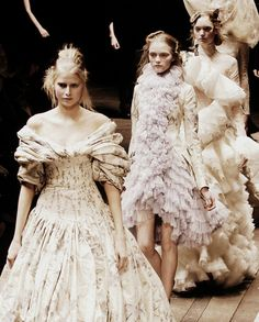 My favourite collection ever - Widows of Culloden, Alexander McQueen Autumn/Winter 2006