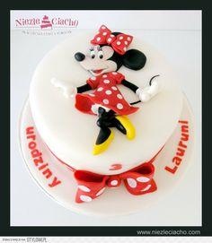 Myszka Mini, Myszka Minnie, tort z Myszką Mini, torty bajkowe, torty dla dzieci, torty urodzinowe, urodziny dziecka, przyjęcie urodzinowe, Tarnów