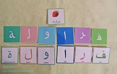 Noor Janan Homeschool: Arabic Vocabulary
