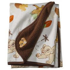 Disney Lion King Velour Sherpa Baby Blanket ($16.99) at Target.com