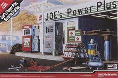 Academy 1/24 Joe's Power Plus Service Station