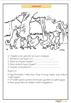 Learn Turkish, Turkish Language, Kids And Parenting, Autism, Worksheets, Activities, Math, Learning, Children