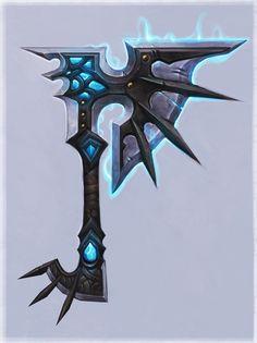 Wow wrath weapon axe 1h nexus d0 - World of warcraft artwork