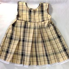 Girls Pretty Dress Pattern, Easy and includes video instructions 9mo -1 year old size
