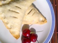 How to Make Fresh Cherry Turnovers from Scratch | You Must Love Food