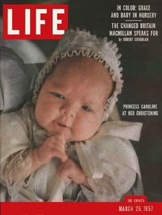 LIFE Magazine - March 1957 -- Cover: Princess Caroline of Monaco Life Magazine, History Magazine, Movie Magazine, Magazine Photos, Patricia Kelly, Princesa Carolina, Princess Grace Kelly, Life Cover, Monaco Royal Family