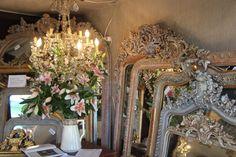 Miroirs anciens rénovés #grey