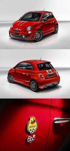 Sacs - Fiat 500 Abarth 695 Tributo #Ferrari