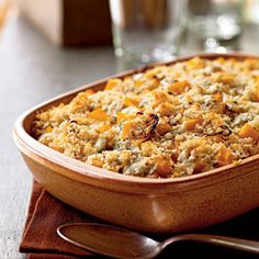 Top-Rated Butternut Squash Recipes | Butternut Squash Gratin with Blue Cheese and Sage | CookingLight.com