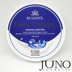 (Advertisement) Patches for eyes Juno Beaumyr Crystal Collagen hydrogel pcs.) made in KOREA