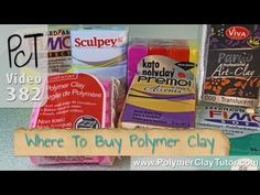 Where To Buy Polymer Clay http://www.beadsandbeading.com/blog/where-to-buy-polymer-clay/17025/