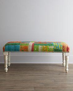 "home decor & interior design - ShopStyle: Neiman Marcus Massoud ""Ambrosia"" Bench"