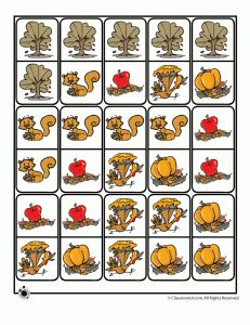 Fall Themed Printable Dominoes - - Pinned by #PediaStaff.  Visit http://ht.ly/63sNt for all our pediatric therapy pins
