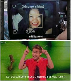 the racist camera from Russell Howard's Good News