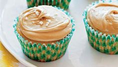 Salted caramel is all the rage right now and I can see why! For those of us who can't decide between sweet and salty, this cupcake solves the problem. Click here for more vegan recipes from Chloe Coscarelli's Vegan Desserts cookbook