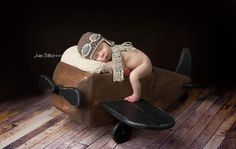 Crochet baby aviator pilot hat and matching scarf set photo prop-choose size and…