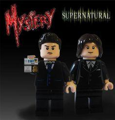 LEGO Supernatural Sam and Dean!!