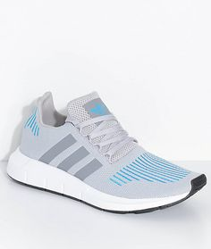 pretty nice 2cc22 7afb9 adidas Swift Run Mystery Energy White  Blue Shoes Womens Sneakers,  Sneakers Fashion, Blue
