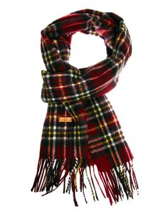Love this plaid scarf - would look adorable for a pop of colour with my black coat