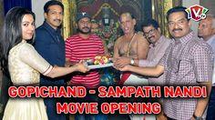 Gopichand and Sampath Nandi New Movie launch   Hansika Catherine Tresa   SS Thaman