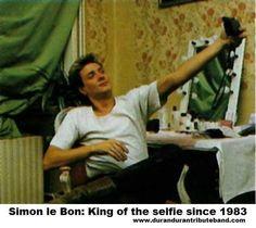 "hifionthedownlo: "" #Simon Le Bon #Duran Duran #Paper Gods """