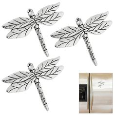Dragonfly Magnets - Set of 3 at The Animal Rescue Site