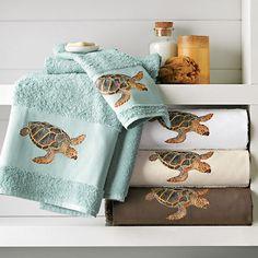 sea turtles towels | Sea Turtle Towels | Gump's