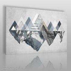 Obraz płótnie góry zima 120x80 42901 obrazy vaku dsgn trójkąty