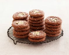 Chocolate Amaretti Cookies from the Bake Sale issue of #giadasweekly