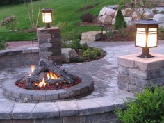 firepit/patio ideas | The Great Ideas You Can Opt for Having Well Designed Backyard Fire ...
