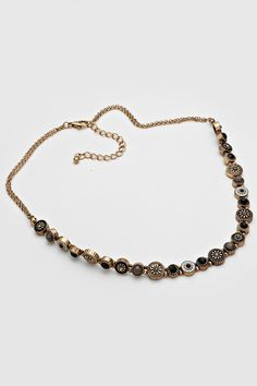 Misha Necklace in Ebony   Women's Clothes, Casual Dresses, Fashion Earrings & Accessories   Emma Stine Limited