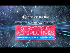 "Chuck Missler Speaking at Strategic Perspectives 2015 #SPCX2015 ""How to Avoid Deception"" Watch Ron Matsen's ""Finding Peace in a a time of Peril"" https://yout..."