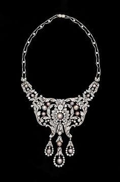 Dreicer & Co  circa 1900 #luxury #diamonds #vintage #necklace #diamondjewellery #finejewellery #jewellery #jewelry