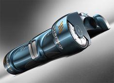 Bugatti Stratos Concept Car - futuristic look