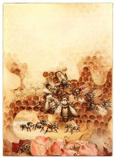 'The Life of the Bee' by Edward Detmold, 1901.