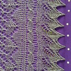 Ravelry: Errold's Grove Wedding Shawl pattern by MMario